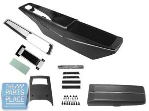 1968 Chevrolet Chevelle Malibu Console Kit With Shifter And Cable Powerglide