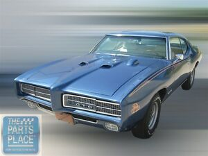 1969 Pontiac Gto Lemans Judge Appearance Kit Coupe Yellow Red Blue