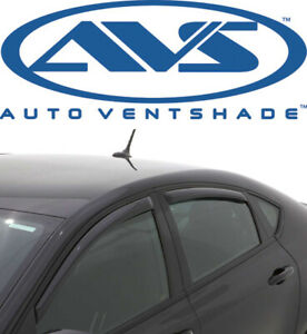 Avs 194529 Snap In channel Window Deflector Ventvisor 4 piece 13 17 Dodge Dart
