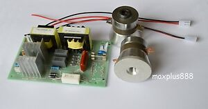 1pc Power Driver Board 110vac 2pcs 50w 40khz Ultrasonic Transducer Cleaner New