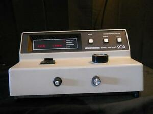 Milton Roy 20d Spectronic Spectrophotometer for Parts