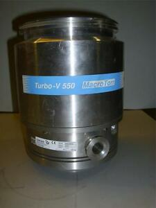 Sciex Turbo V 550 Macro Torr Pump Tv550 Mass Spectrometer