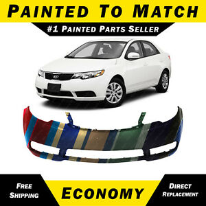 New Painted To Match Front Bumper Fascia For 2010 2013 Kia Forte Sedan Hatchback