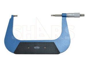 Shars Precision 5 6 Inch Blade Outside Micrometer 0001 New