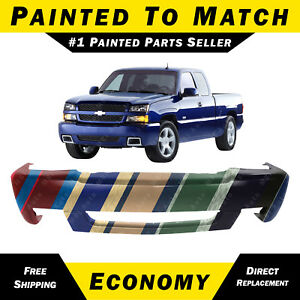 New Painted To Match Front Bumper Cover Fascia For 2003 2007 Chevy Silverado Ss