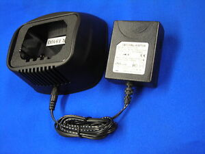 New Single Rapid Charger For Motorola ntn4593 4595 8818 4588 Saber Mx1000 fug10b