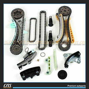Engine Timing Chain Kit W Gears For 1997 2009 Ford Mazda Mercury 4 0l Sohc