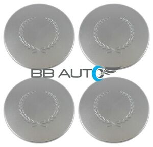 Set Of 4 New Cadillac Deville Seville Eldorado Dts Silver Wheel Hub Center Caps