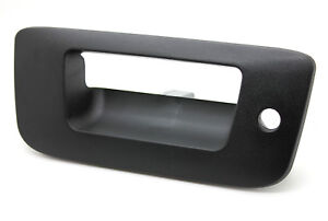 New Textured Locking Tailgate Handle Bezel For 2007 13 Chevrolet