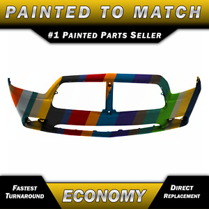 New Painted To Match Front Bumper Cover Replacement For 2011 2014 Dodge Charger