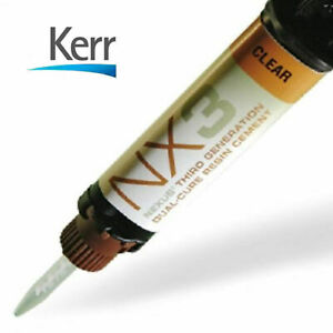 Nx3 Dual Cure Dental Adhesive Cement Clear By Kerr Sale