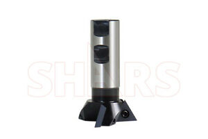 Shars 2 1 4 Diameter Cutter Indexable 60 Degree Dovetail Mill Cutting New