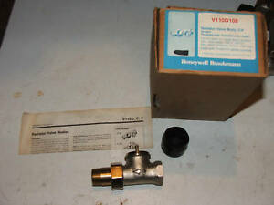 New Honeywell V110d108 Radiator Valve Body 3 4 Wood Furnace Boiler