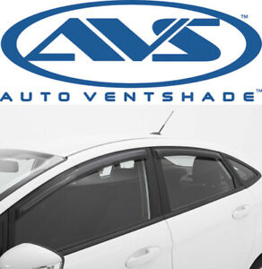 Avs 94843 Tape on Window Shades Ventvisors 4 piece Smoke 2006 2013 Chevy Impala