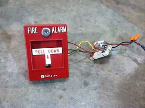 Simplex Fire Alarm Manual Pull Station