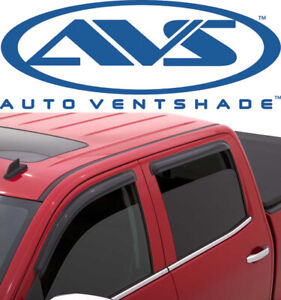 Avs 94536 Tape on Window Shades Ventvisors 2014 2018 Gmc Sierra Chevy Silverado