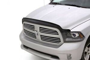 Avs 21045 Hoodflector Bug Deflector Rock Shield Smoke 2009 2018 Dodge Ram 1500