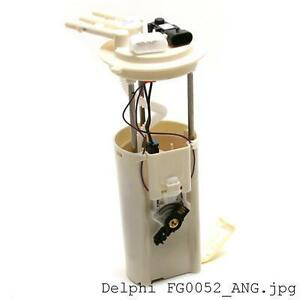 1998 2001 Chevrolet Blazer Jimmy Envoy Bravada 4 Door Fuel Pump Delphi