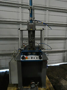 Alfamatic Hydro Pneumatic C frame 3 Ton Press