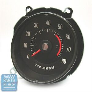 1969 72 Pontiac Gto Lemans In Dash Tach 5200 Rpm Oem Factory