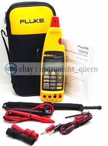 brand New Fluke 773 Milliamp Process Clamp Meter With Soft Case F773