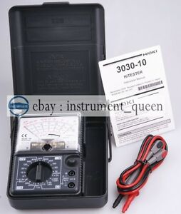 Made In Japan Hioki 3030 10 Analog Multimeter Hitester Brand New