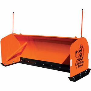 Scoopdogg Snow Pusher For Skid Steers 10ft l Model 2603010