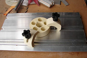 T slot Table Top 9 X 16 W 2 Clamps Cnc Router Extruded Aluminum Special Price