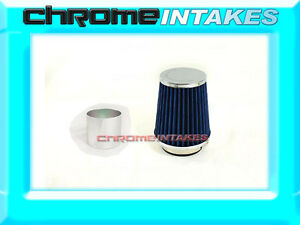 Blue Universal 3 5 89mm Small Air Filter For Dodge Air Intake pipe