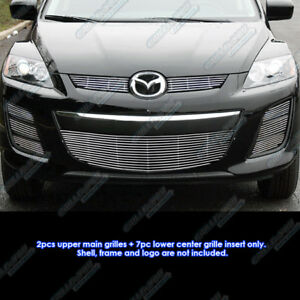 Fits 2010 2012 Mazda Cx 7 Cx7 Billet Grille Grill Combo Insert