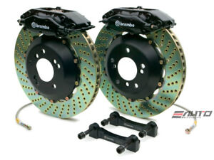 Brembo Rear Gt Brake 4piston C Caliper Black 345x28 Drill Disc Bmw E52 Z8 00 03