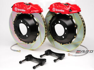 Brembo Rear Gt Brake Bbk 4piston P Caliper Red 345x28 Slot Disc Bmw E52 Z8 00 03