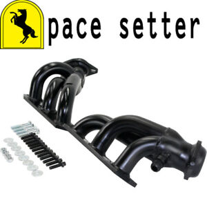 Pace Setter 70 1077 Painted Steel Shorty Headers 2001 2004 Mustang 3 8l V6 W Egr