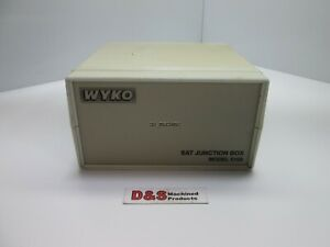 Wyko Model 5100 Sat Junction Box 4 Probe Slot 1 Computer Slot