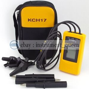 Fluke 9040 Digital Phase Rotation Indicator Tester Meters free Soft Case F9040
