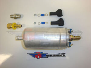 255lph External Universal Inline High Pressure Fuel Pump Hi flow Tre 200 u3 8