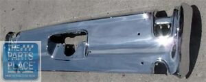 1969 Oldsmobile Cutlass H o 442 Rear Bumper With Cutouts