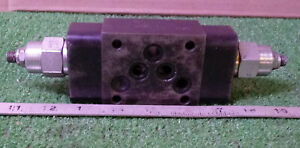 1 Used Sun Hydraulics Cbx s Manifold Valve make Offer