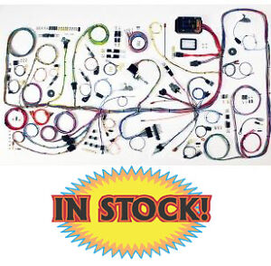 American Autowire 510317 1966 77 Ford Bronco Classic Update Wiring Harness