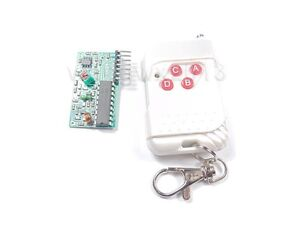Stepper Motor Driver Board Wireless Remote Controller For 51 Learning Remote Kit