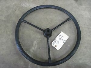 John Deere A D G Early Steering Wheel 1829