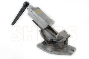 4 Tilting 2 Way Tilt 360 Swivel Angle Milling Vise New