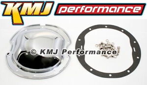 Chevy Gm 10 Bolt 8 2 Ring Gear Chrome Steel Differential Cover Kit Gasket Bolts