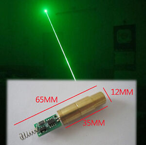 150mw High Quality 532nm Green Laser Diode Module Green Beam Lab With Driver