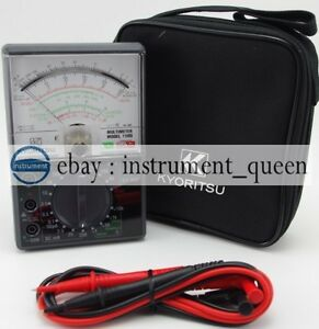 Kyoritsu 1109s Analogue Multimeters With Carrying Case brand new