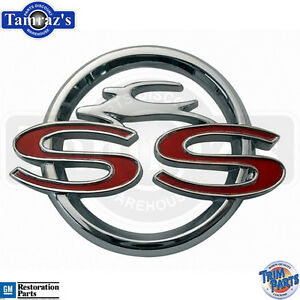 1963 Chevrolet Impala Ss Center Console Emblem Made In The Usa