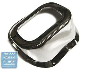 66 67 Chevrolet Chevelle El Camino Chrome Shift Hump For Cars Without Console