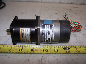 New Superior Electric Slo syn Stepping Gear Motor 2 Rpm Out M061 le08c5003 Se23