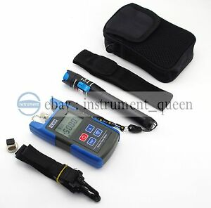 10mw Visual Fault Locator Fiber Optic Cable Tester Tl510c Optical Power Meter