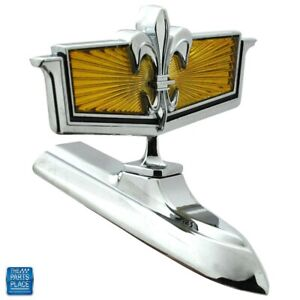 1980 85 Chevrolet Impala Caprice Hood Ornament Gm 14010590